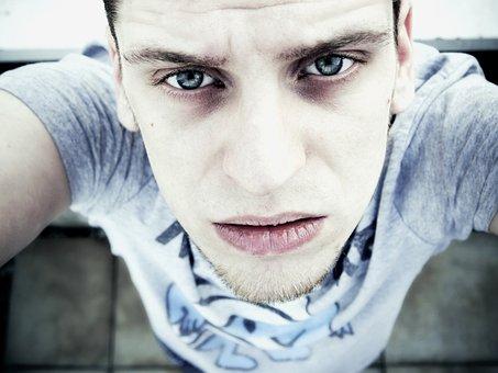 Portrait, Face, Pale, Expressive, Eyes, Nose, Mouth