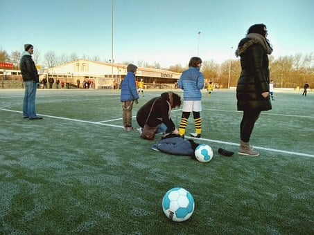 Football, Pupils, Saturday, Children, Training