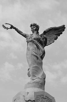 Statue, Carpentras, Goddess, Laurel