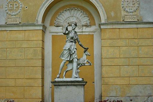 The Goddess Diana, Diana, Goddess, Statue, Sculpture