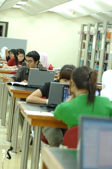 Students, Lerning, Pupils, Computer, Wifi, Network