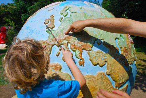 Learning, Geography, Teaching, Child, World