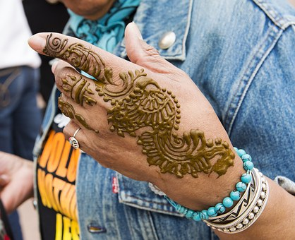 Hand Art, Art, Design, Woman, Colorful, Trendy, Sample