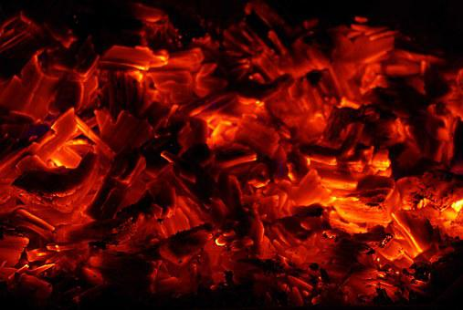 Fire, Embers, Carbon, Barbecue, Wood, Campfire, Hot