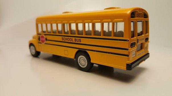 School Bus, Back To School, Yellow, Transport