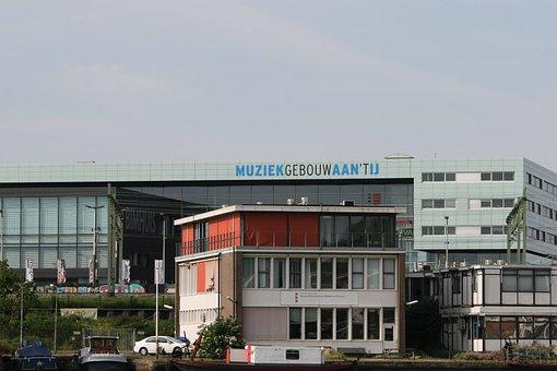 Amsterdam, Music Building, Muziekgebouw Aan 't Ij