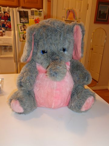 Stuffed Animal, Stuffed, Animal, Elephant, Toy