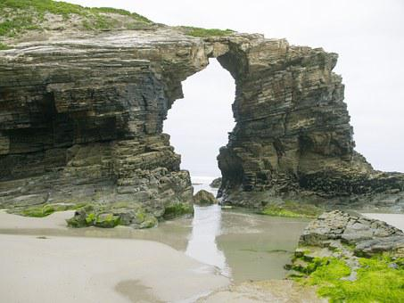 Arc, Cathedrals Beach, Ribadeo