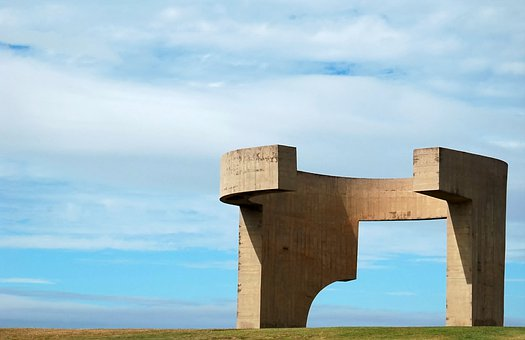 Gijón, Asturias, Art, Architecture, Comb Of The Wind