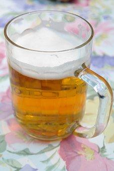 Beer, Beer Glass, Drink, Wheat Beer, Refreshment
