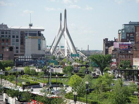 Boston, Landscape, Architecture, Usa, City, America