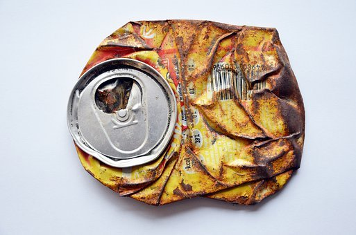 Softdrink, Can, Drink, Tin, Flat, Rusty, Beverage, Cans