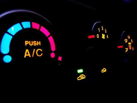 Car, The Instrument Panel, Air Conditioning, Lighting