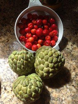 Record, Cone, Acerola, Fruit