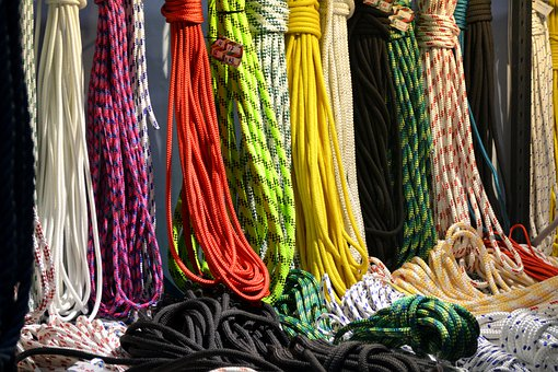Ropes, Hawsers, Cords, Tightropes, Climbing