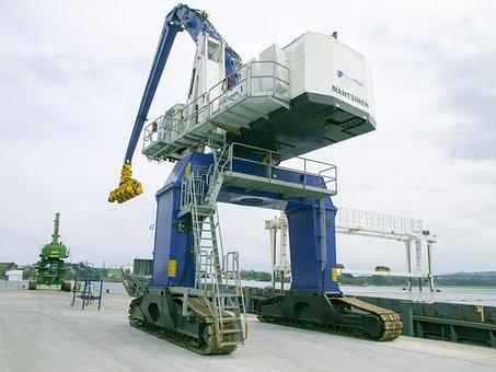 Crane, Port Ribadeo, Lugo