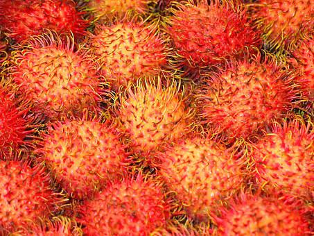 Rambutan, Fruit, Healthy, Vitamins, Fruity, Delicious