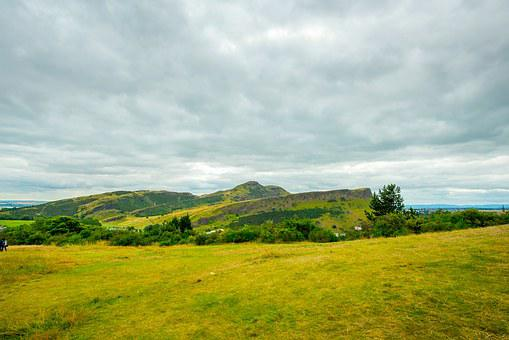 Holyrood Park Edinburgh, Park, Holyrood, View, Nature