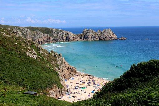 Bay, Sea, Shore, Ocean, Water, Island, Landscape