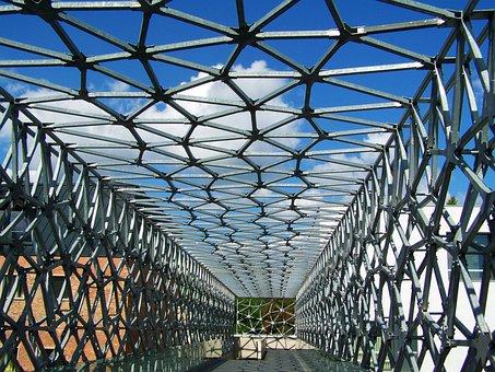 Flyover, The Bridge Connecting, Metal Construction