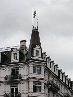 Zrueich, Facade, Roof, Architecture, Metropol