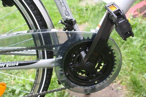 Pedal, Bike, Chain Drive, Chain Guard, Tour, Outdoor