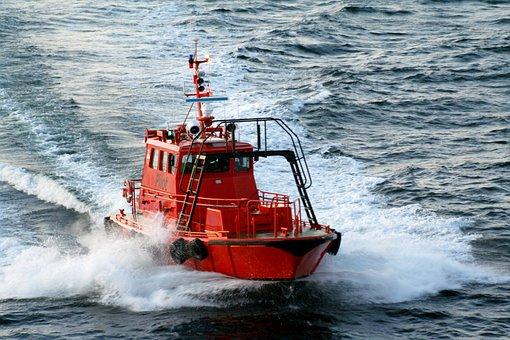 Pilot, Boat, Water, Traffic, Port, Ships, City, Sea