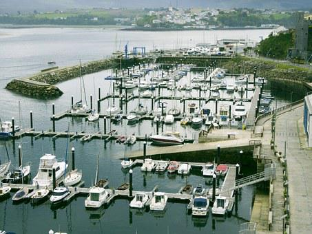 Port, Boats, Ribadeo