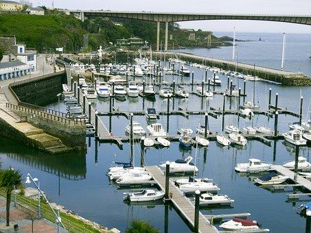 Port, Boats, Ribadeo Lugo