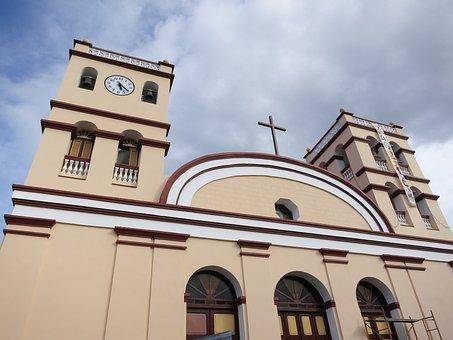 Baracoa, Church, Cuba, Architecture, Restoration