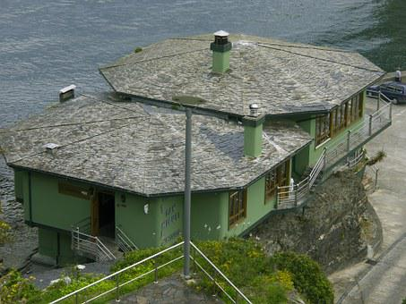 Restaurant, Sea, Ribadeo Lugo