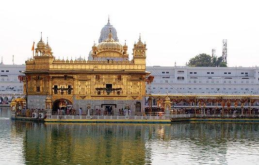 Golden Temple, Amritsar, Sikh, Punjab, India, Travel