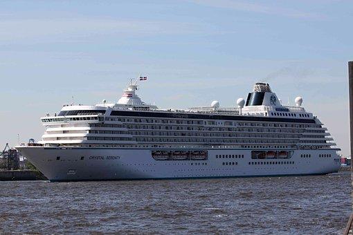 Cruise Ship, Ship, Traffic, Maritime, Sea, City, Port