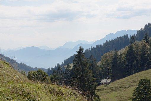 Mountains, Alpine, Upper Bavaria, Sudelfeld, Alm