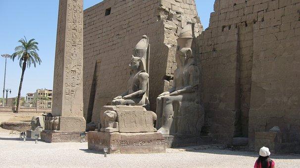 Karnak, Temple, Luxor, Ancient, Tourism, Egypt