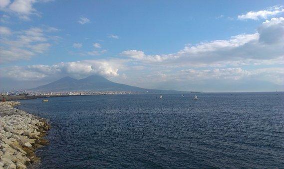 Naples, Vesuvius, Campbell, City