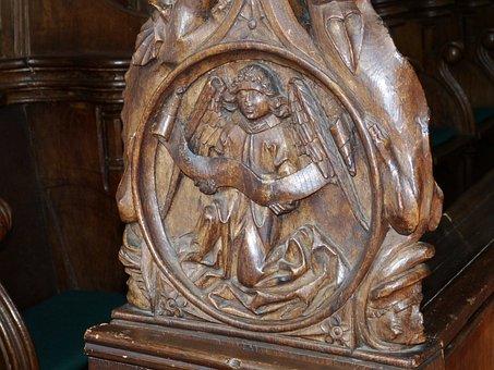 Wood, Carve, Figure, Art, Portrait, Carved, Carving