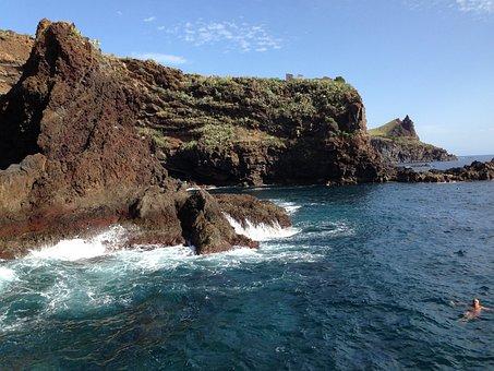 Antlantik, Portuguese Island, Madeira, Coast