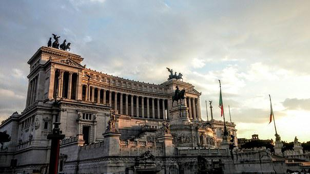 Rome, History, Monument, Emanuele, Vittorio, Italy