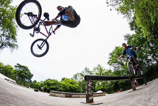 Skate, Skateboard, Skatepark, People, Friends, Action