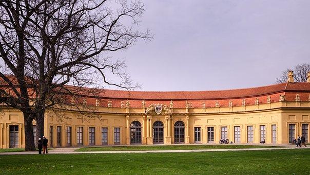 Castle, Erlangen, Orangerie, Garden, Germany