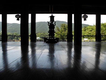 Wood Butai, Hasedera Hondo, Japan, Architecture
