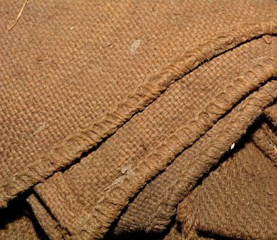 Jute, Tissue, Jute Blankets, Fibers, Structure, Old