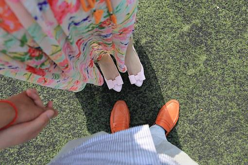Foot, The Self-timer, Couples, Shoes, Hand, Love