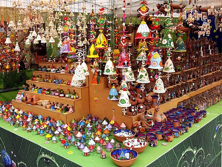 Stall, Items, Color, Colorful, Market, Ornaments