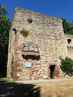 Ruin, Middle Ages, Building, Knight's Castle, Stones