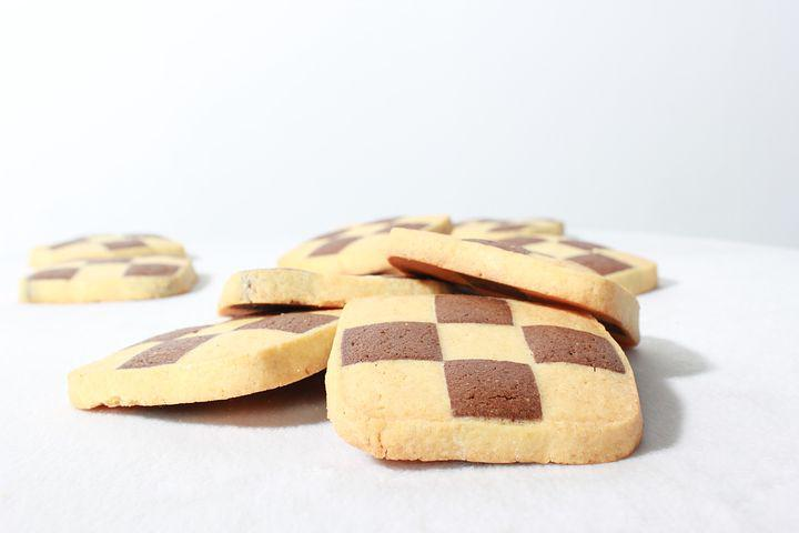 Cookies, Mosaic Cookies, Confectionery