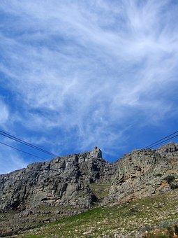 Table Mountain, Cape Town, Mountain, Town, Cape, Table