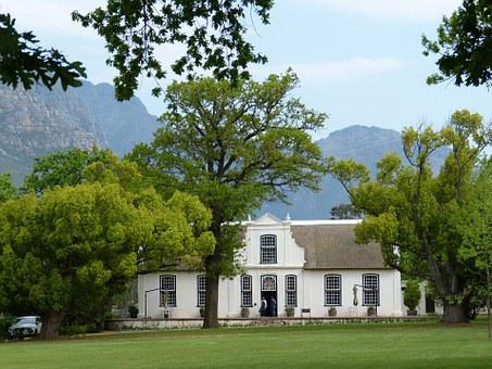 South Africa, Cape Town, Mountains, Landscape, Winery
