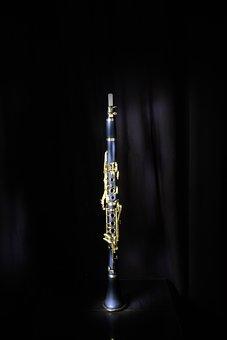 Clarinet, Jazz, Musical Instrument, Music